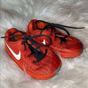 Nike KD8 6C Sneakers Orange & Black